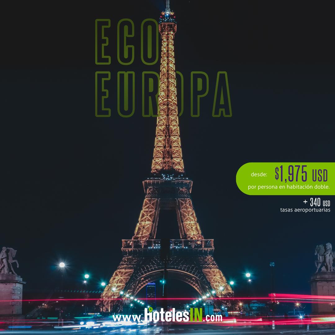 ECO EUROPA + VUELOS